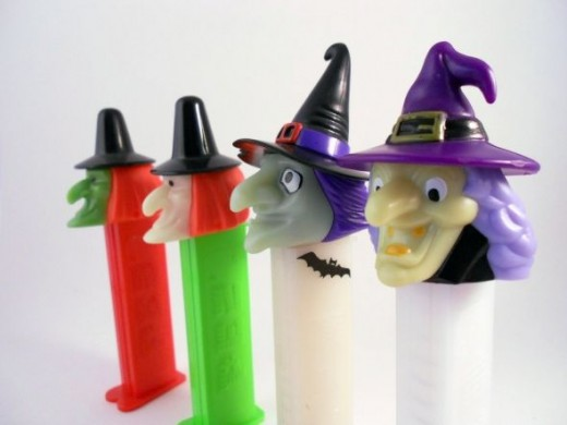 Pez Witches