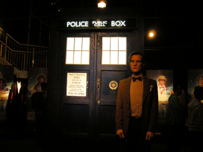 Matt Smith statue at Doctor Who Experience, Cardiff Bay