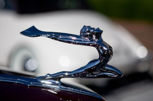 Hood Ornaments American Classic Cars 1930s 1950s Hubpages