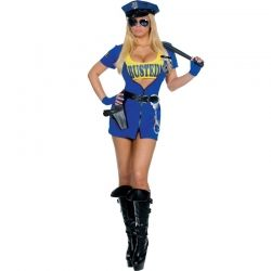 Busted Adult Police Officer Costume