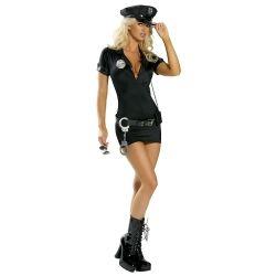 Stop Traffic Lady Cop Costume