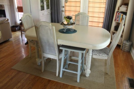 Shabby Chic Dining Room Table