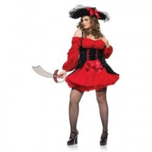 Vixen Pirate Wench Plus Costume