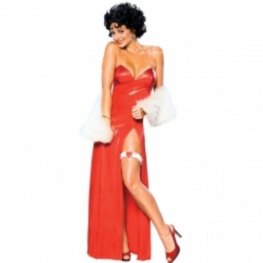 Betty Boop Starlet Long Dress Costume