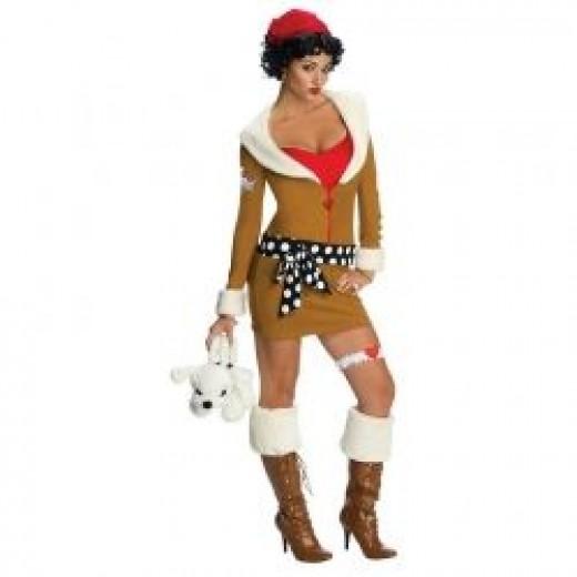 Betty Boop Aviator Costume