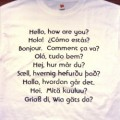 How To Make Foreign Language T-Shirts With Your Own Slogans