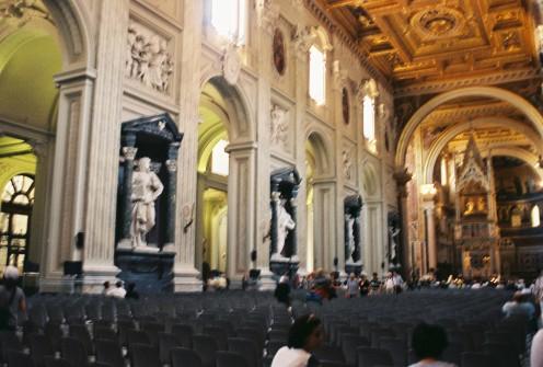 Inside St. Mary Major.