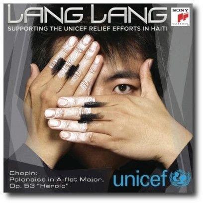 Lang Lang and UNICEF - Benefit single for the 2010 Haiti earthquake