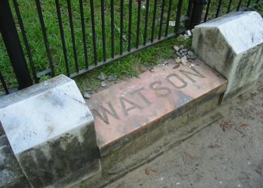 Watson Family Plot Marker
