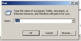 Invoking the command prompt