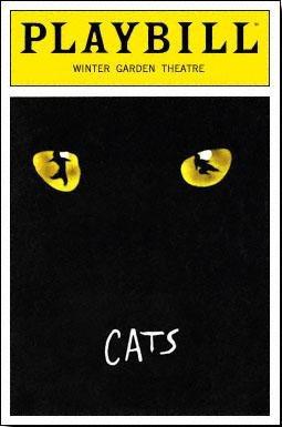 Cats Playbill