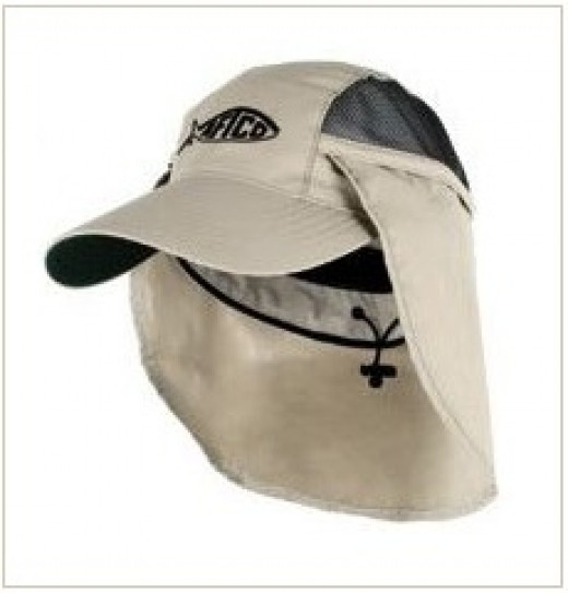 Fishing Caps with Sun Protection Flaps