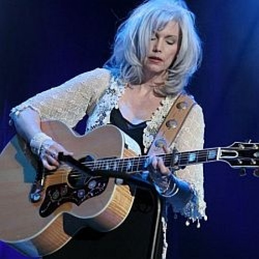 Emmylou Harris Country Music Star