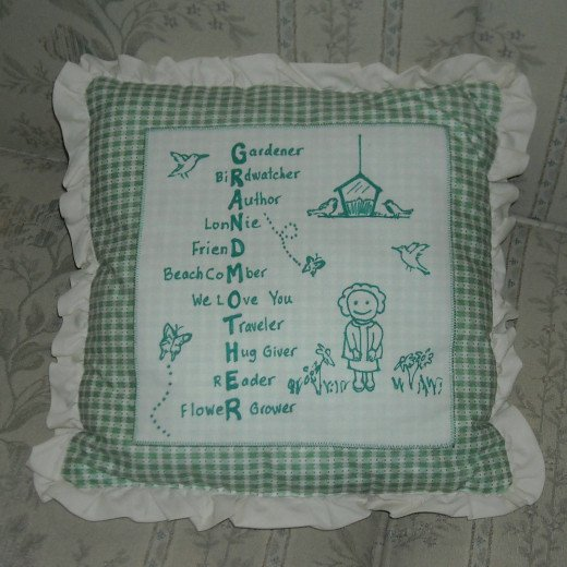 Make Homemade personalized pillows