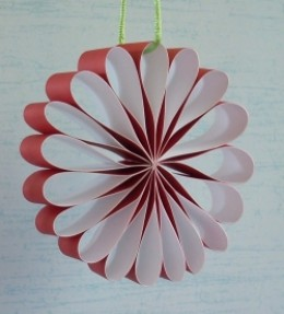 Paper Ornament Craft for Christmas