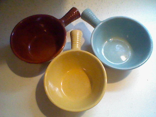 I am not sure where these came from but for kids they are a great way to help hold onto the bowls.