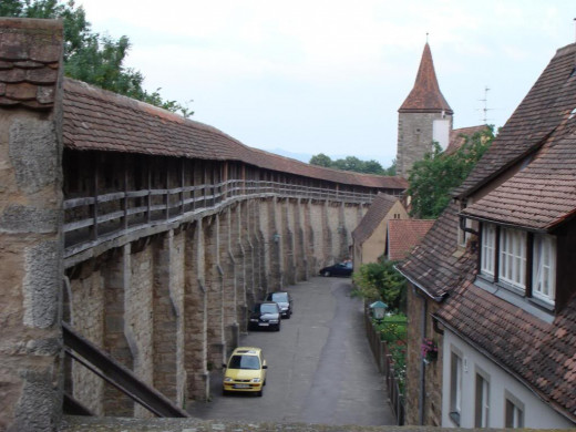 The Rothenburg Wall