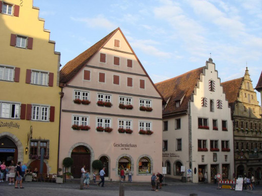 Shops in Rothenburg