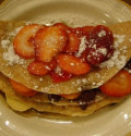 Double-Decker Strawberry, Banana, and Chocolate Crepes!