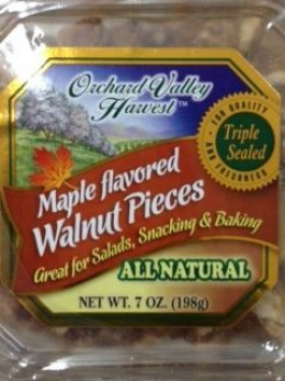 Substitute maple flavored walnut pieces instead of the granola