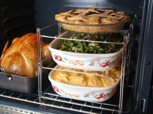 Three-Tier Oven Rack