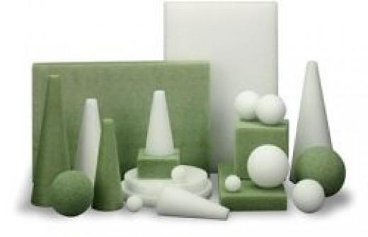 Styrofoam crafts