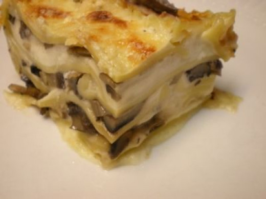 Mushroom Lasagna Recipe