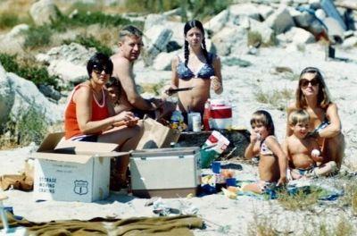 Family Beach Picnic