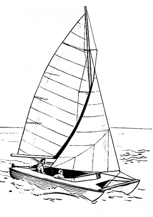 free coloring pages of clipper ships