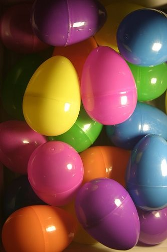 Plastic Easter Eggs Picture