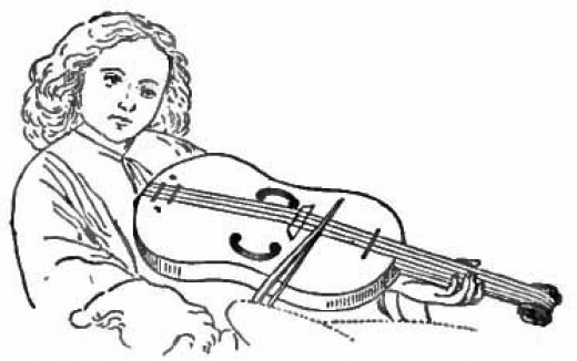 coloring pages of string instruments - photo#13
