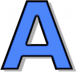 Letter A Coloring Pages and Pictures and Learn the Alphabet