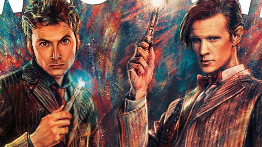 Doctor Who Painting