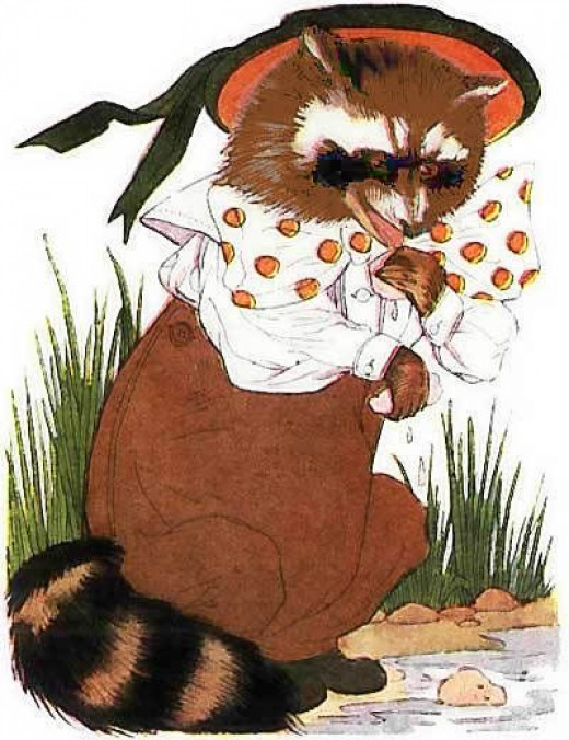 Raccoon Cartoon Clipart
