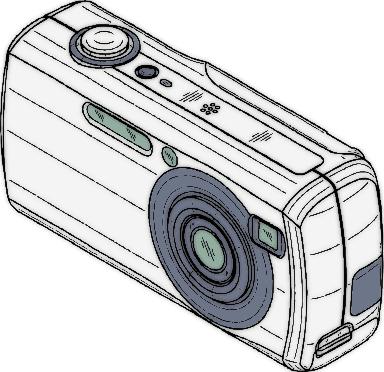 Camera Coloring Sheet