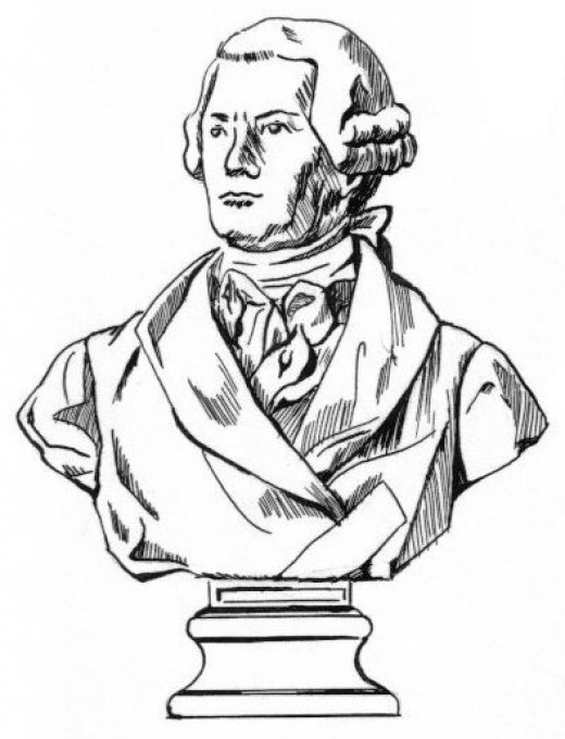 Bust Coloring Page