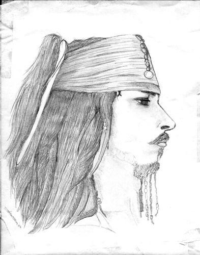 Jack Sparrow coloring.