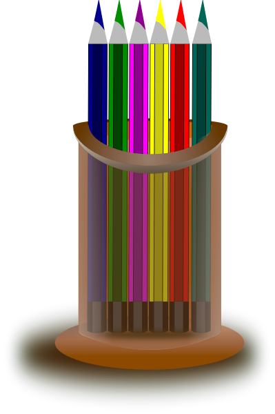 Colored Pencils Clipart