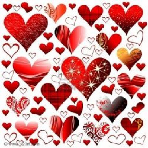 Hearts and Hearts and Hearts