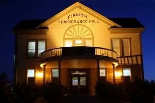 Finn Hall at Night