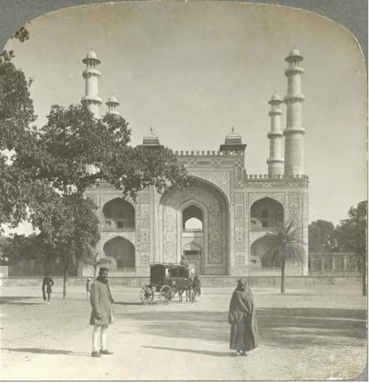 Entrance of Tomb of Akbar, Sikandarh