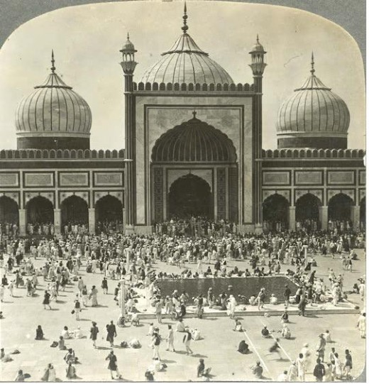 Fount of ablution mosque JAMa