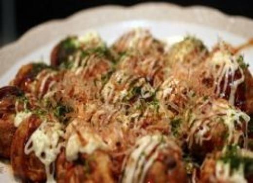 takoyaki dumplings