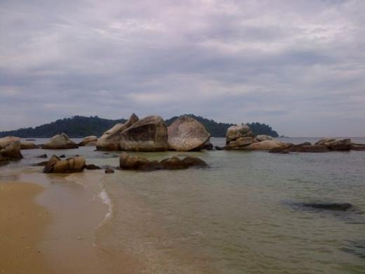 Pasir Bogak Beach