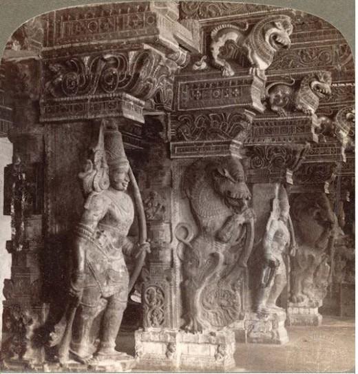 Hindu sculpture , Madurai