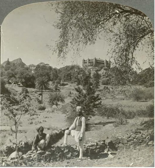 Head quarters of British agent Mt.abu