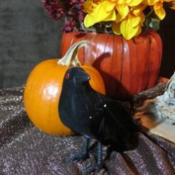 How to Decorate with Crows for Halloween