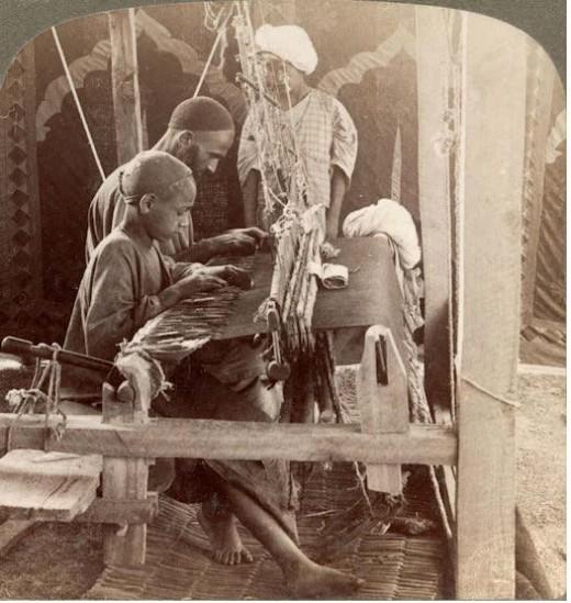 Weaver in kashmir