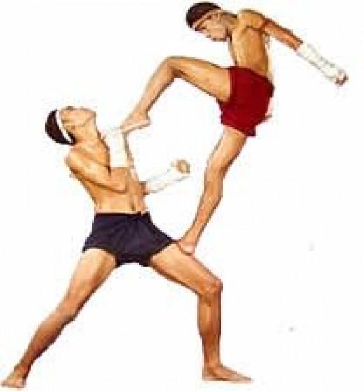 Muay Thai Kickboxing from Thailand