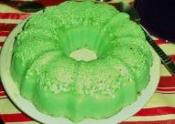 green jello mold